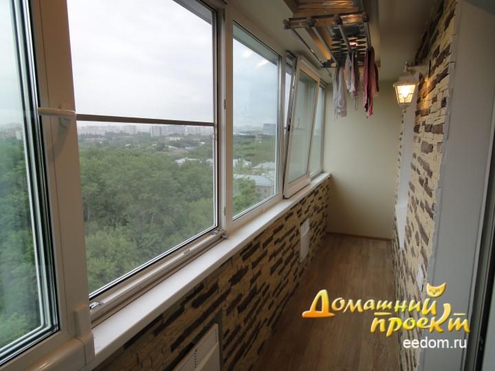 Балконы и-209а. работы по остеклению и отделке балконов. ....