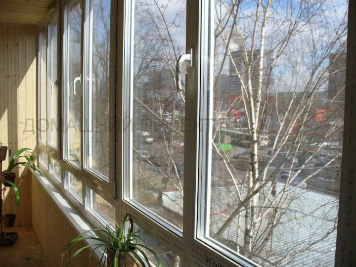 Застекление балконов серии п 43..