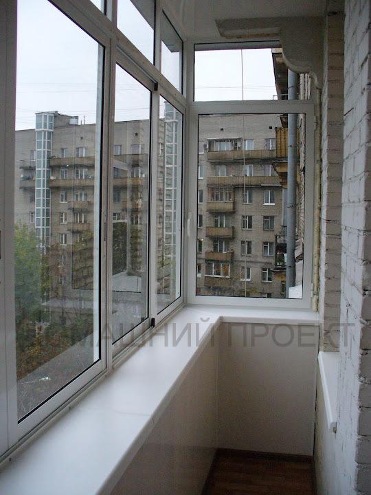 Застеклить часть балкона - smotri-balkony.ru.