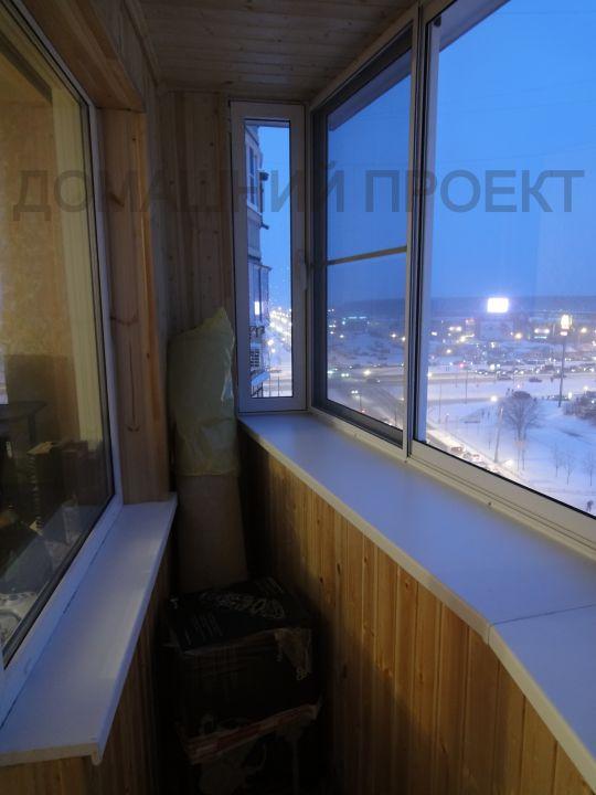 Остекление балкона п 44 утюг..