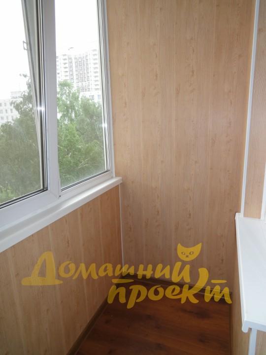 Внутренняя отделка и обшивка балкона и лоджии, цены - домашн.