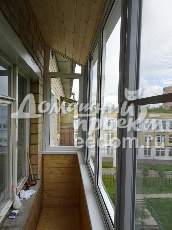 Угловое остекление балкона как открыть дверь балкона стеклопакет