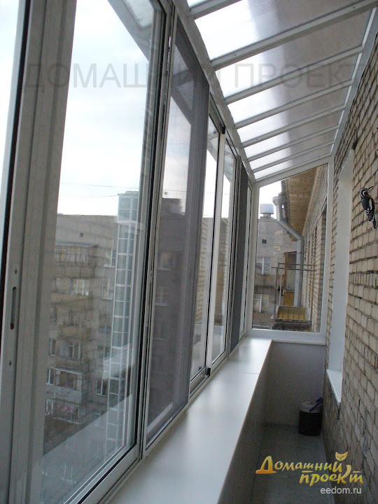 Ремонт крыши балконов одинцово холодное остекление балконов снип