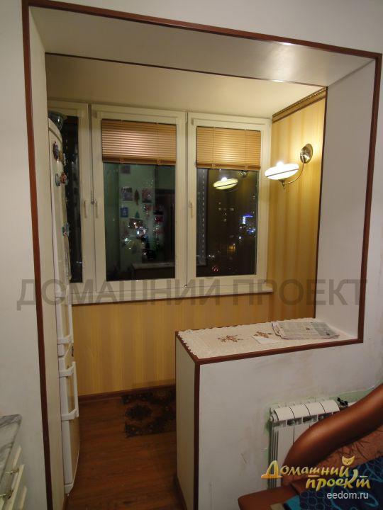 Объединение балкона с комнатой, 100500 ФОТО удачных ...