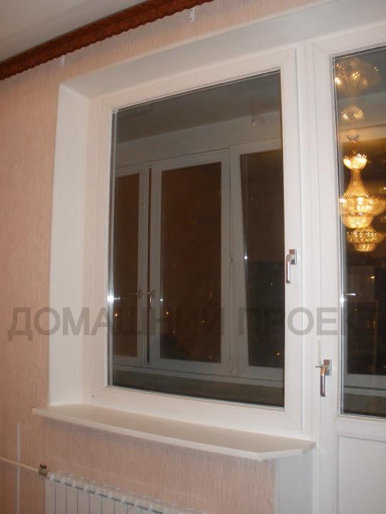 Остекление квартиры ПВХ окнами Рехау
