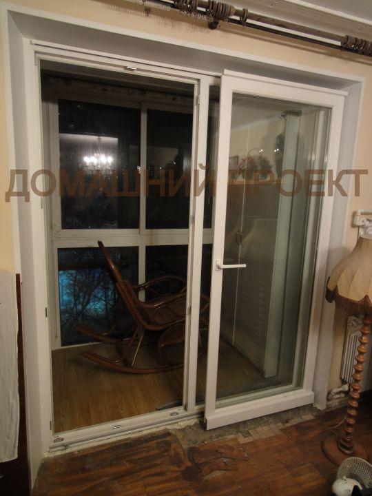 Раздвижные двери Рехау