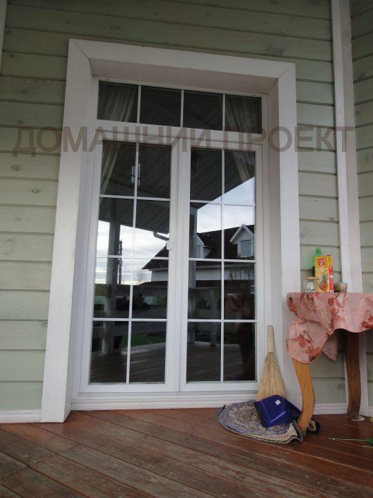Двери ПВХ из профиля Рехау