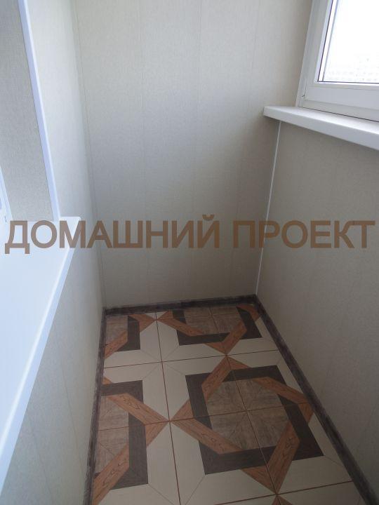 Отделка балкона п-43. балконы п-43. наши работы. домашний пр.