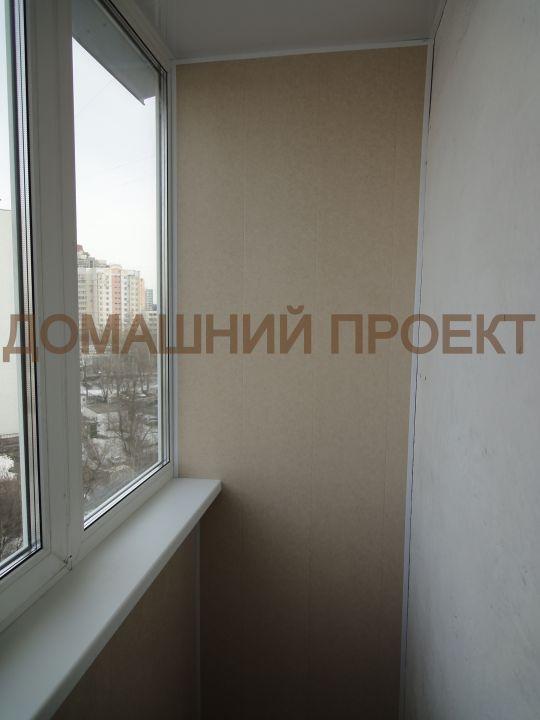 Отделка балкона П-3
