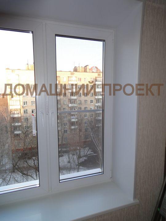 Пластиковое окно в кирпичном доме