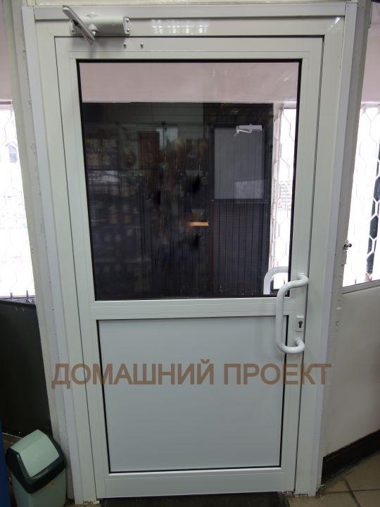 Дверь из холодного алюминия