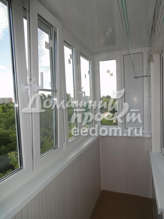 Балкон под ключ на ул. Чичерина