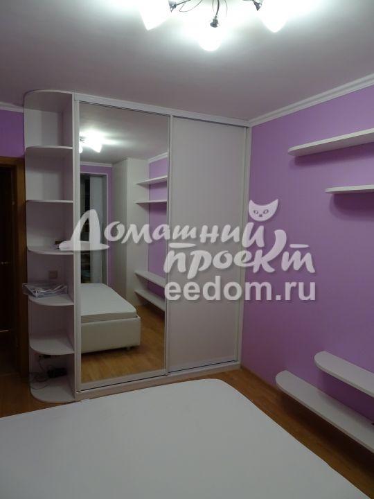 Шкафы в спальню на ул. Красных Зорь (2)