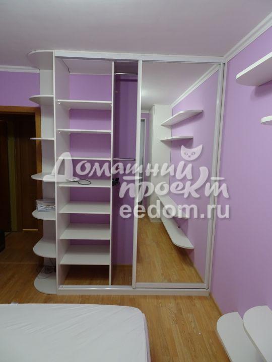 Шкафы в спальню на ул. Красных Зорь (4)