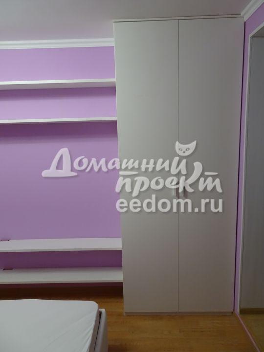Шкафы в спальню на ул. Красных Зорь (6)