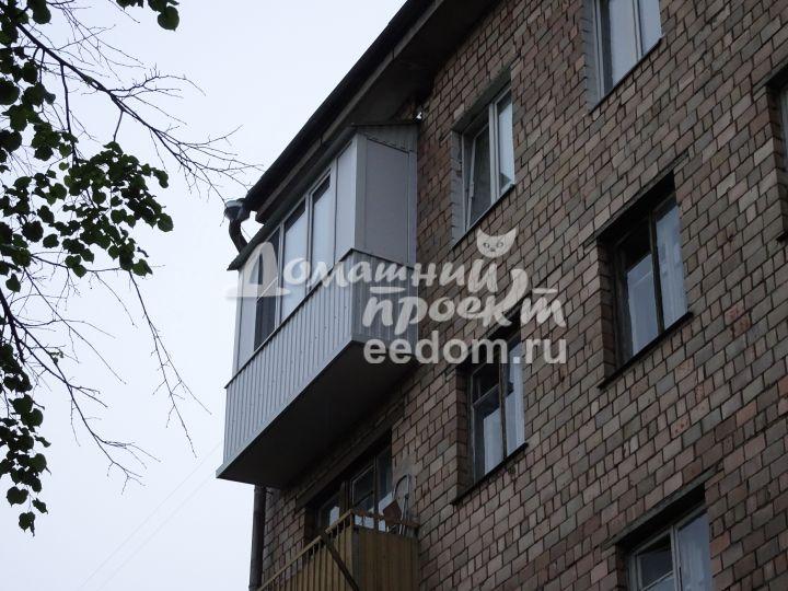 Балкон с внешней отделкой 300616/2