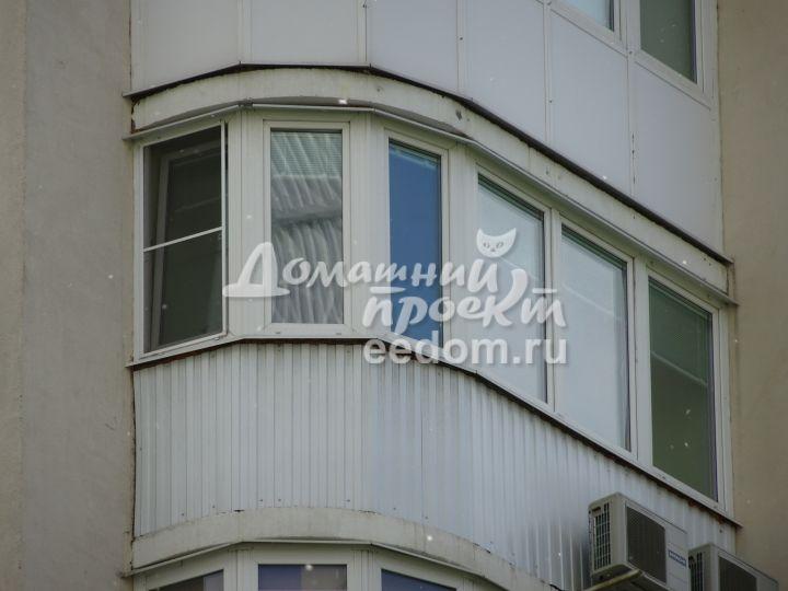 Балкон с внешней отделкой 300616/3