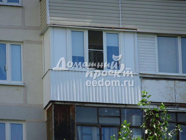 Балкон с внешней отделкой 300616/8