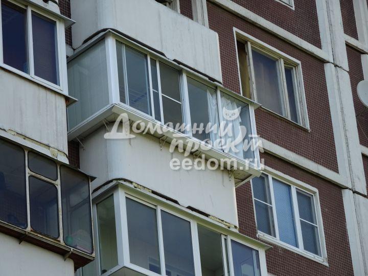 Алюминиевое остекление на марьинском бульваре. алюминиевое о.