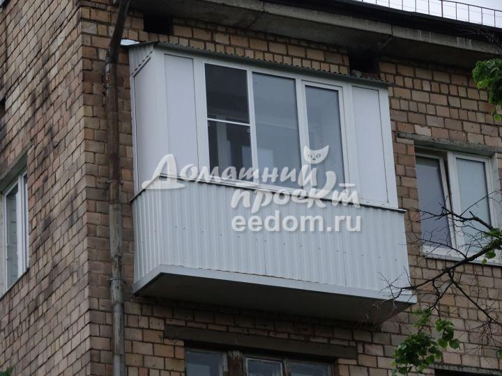 Балкон с крышей на последнем этаже 300616/1