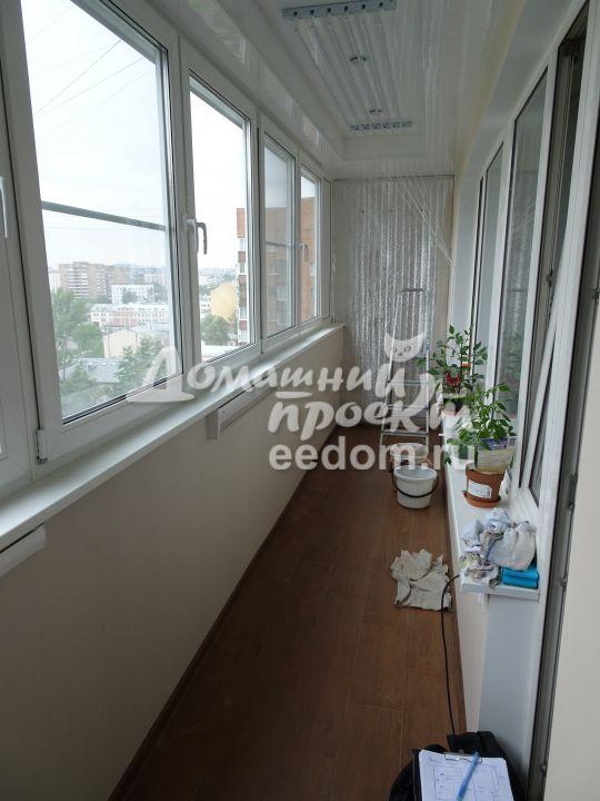 Утепление стен при отделке балкона 300616/1