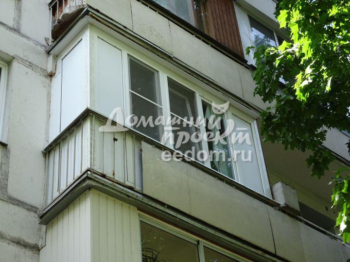 Остекление балкона от пола до потолка. работы по остеклению .