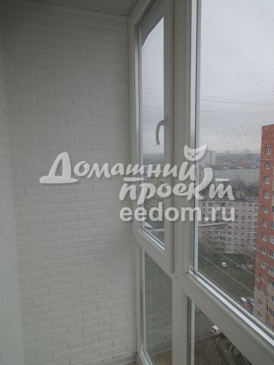 Остекление балкона от пола до потолка 15