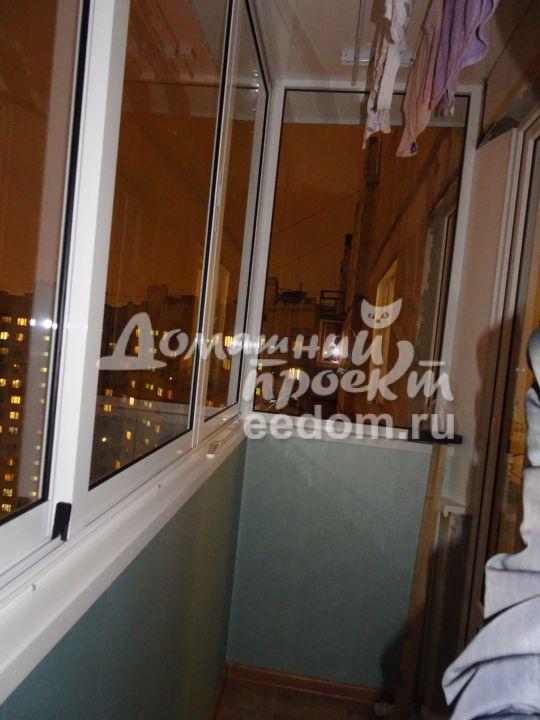 П3 - холодное остекление - митино_1. балконы п-3. наши работ.