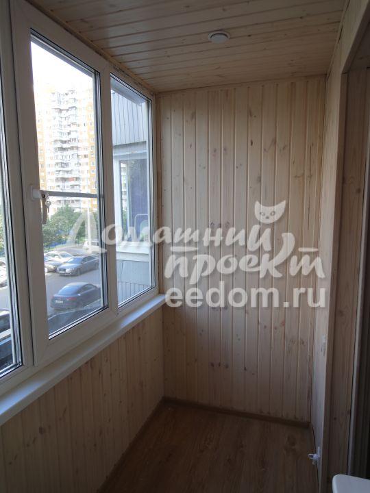 Теплый балкон с отделкой - Мичуринский проспект_1