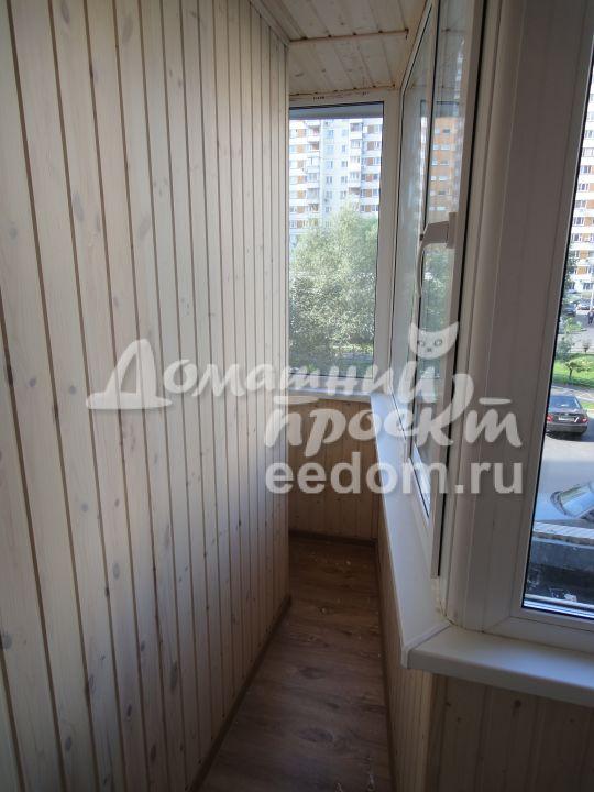Теплый балкон с отделкой - Мичуринский проспект_2