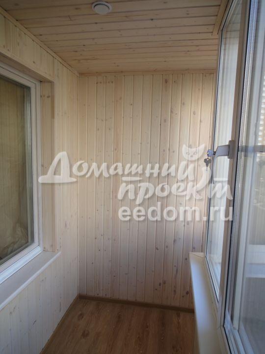 Теплый балкон с отделкой - Мичуринский проспект_3