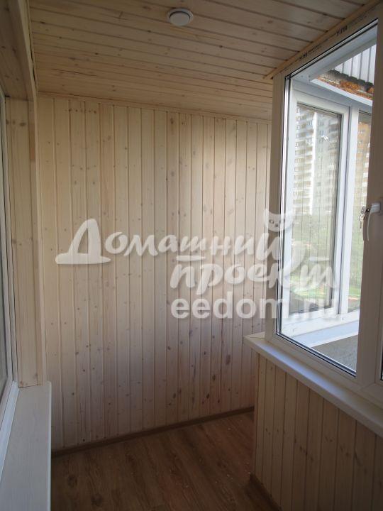 Теплый балкон с отделкой - Мичуринский проспект_4