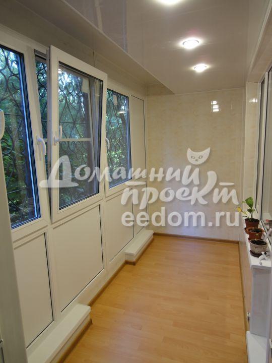 Теплый балкон - проспект вернадского 1. остекление балконов .