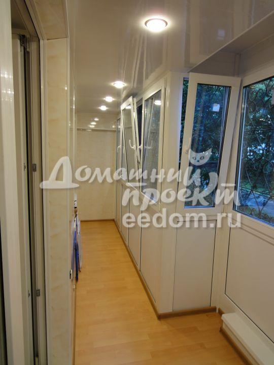 Теплый балкон - проспект Вернадского 2