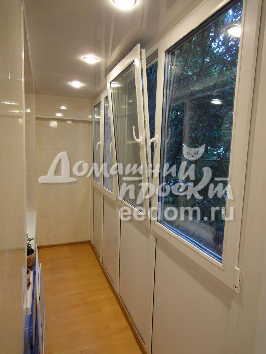 Теплый балкон - проспект Вернадского 3