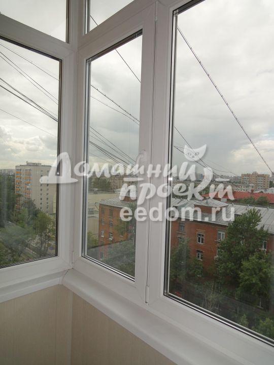 Теплый балкон с крышей - Проспект Мира 1