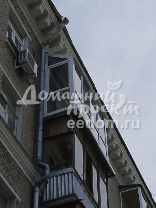 Остекление с прозрачной крышей - ул. Кошкина 1