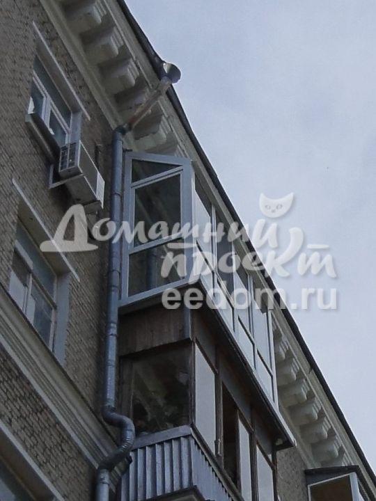 Остекление с прозрачной крышей - ул. Кошкина 2