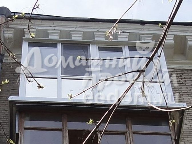 Остекление с прозрачной крышей - ул. Кошкина 3