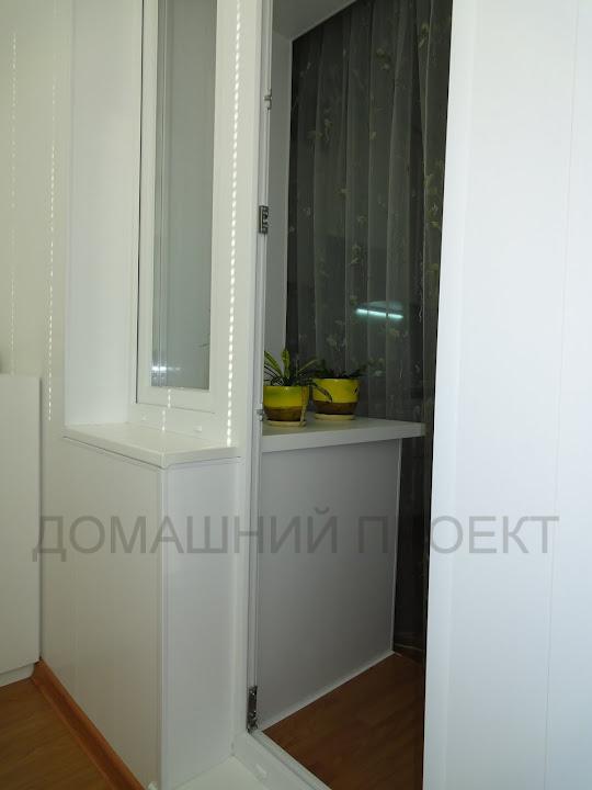 Отделка балкона ПВХ панелями в монолитном доме