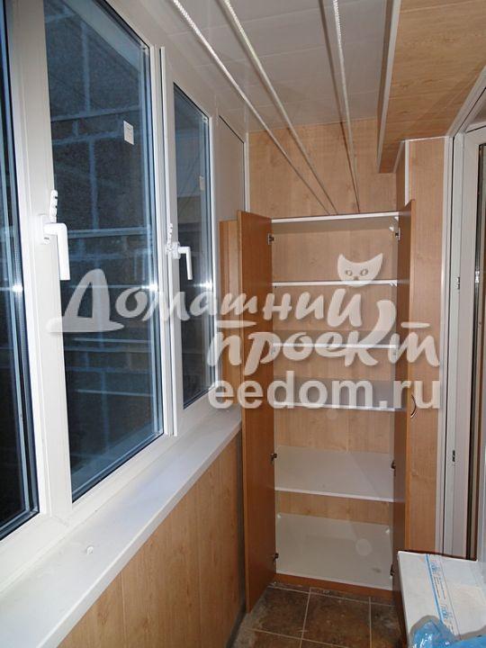 Балкон И-209 остекление