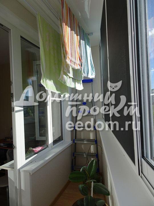 Остекление балкона в доме II-57