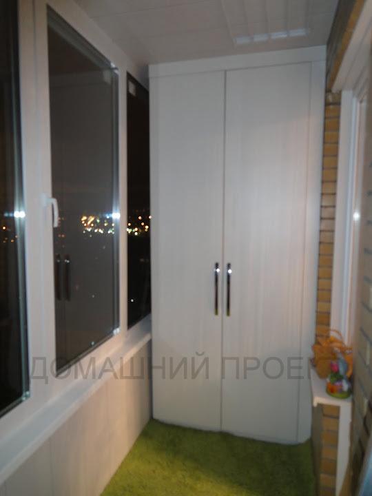 Балкон под ключ в монолитно-кирпичном доме