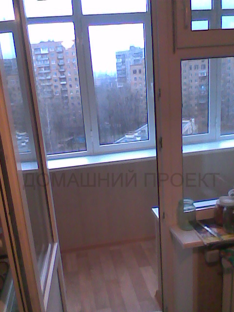Застекление балкона ПВХ-профилем