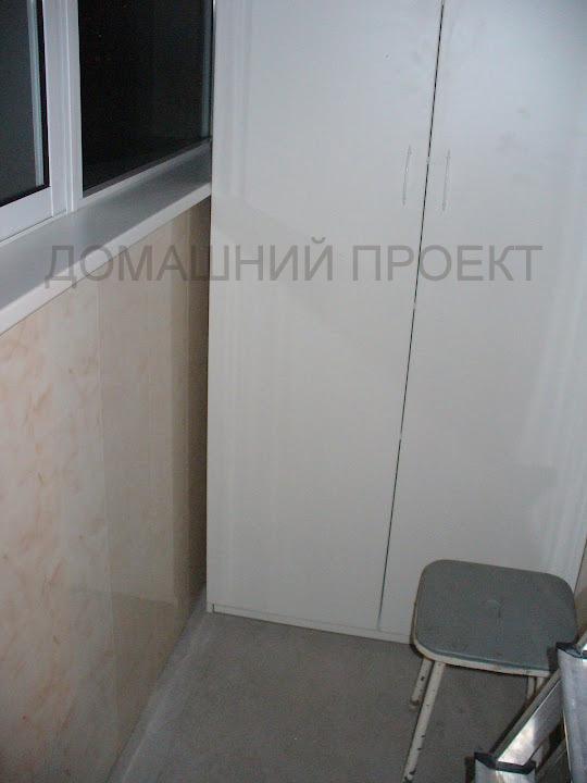Палстиковая отделка балкона и-491а