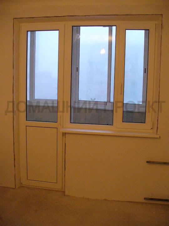 Установка балконного блока пвх. пластиковые окна и двери. на.