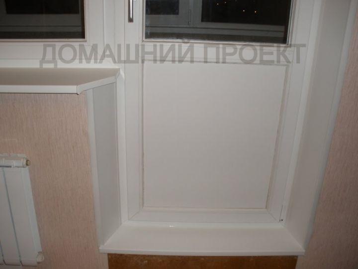Балконный блок из ПВХ