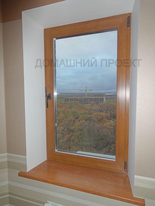 Установка пластиковых окон с ламинацией в квартире