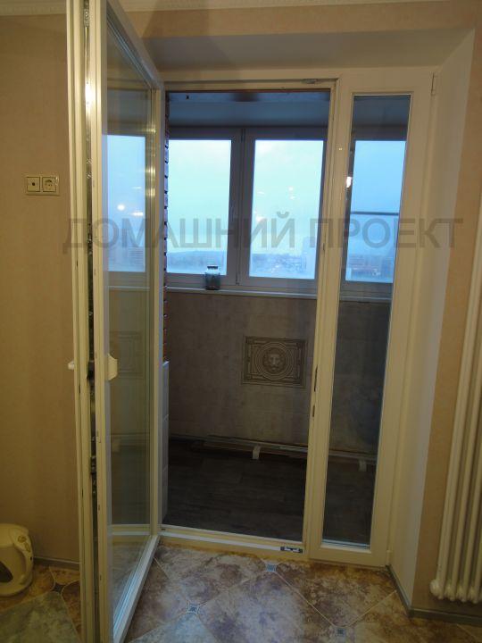 Пластиковые двери со штульповым открыванием