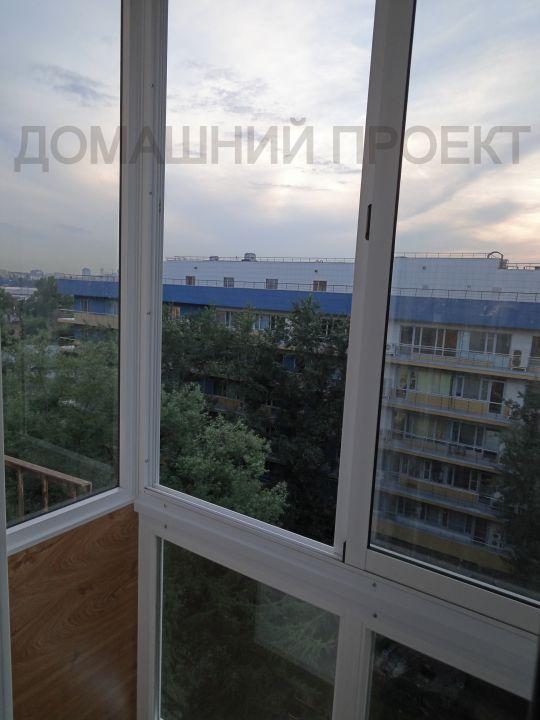 Остекление балкона от потолка до пола
